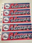 SET OF 5 RETRO PHILADELPHIA 76ERS BUMPER STICKERS WINCRAFT FREE SHIPPING on eBay