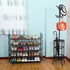 3/5/10 Tier Home Storage Organizer Cabinet Shelf Space Saving Shoe Tower Rack