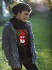 Cute Xmas Snowman or Ugly Christmas Sweater Day Long Sleeve T-Shirt