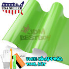 *Premium Gloss Glossy Green Car Vinyl Wrap Sticker Decal Air Release Bubble Free