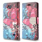 For ZTE Majesty Pro Premium Leather Wallet Case Pouch Flip Phone Protector Cover
