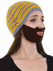 Beard Hat Beanie knit Face Warmer Moustache Ski Snow Warmer Hat