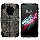 """For Alcatel One Touch Idol 3 (5.5"""") Dual Bumper Case Kickstand Fishing"""