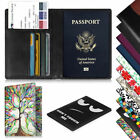 Passport Holder Travel Wallet Business Credit Cards Boarding Pass Case Cover