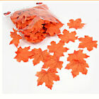 100Pcs/Set Simulation Leaves Plant Wedding Favor Fall Maple Leaf Home Decoration