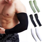Newly Sun Protection Arm Cooling Sleeve Warmers Cuffs UV Protection Mens Sleeves