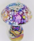 Neo Art Glass mushroom speckle sterling silver dragonfly butterfly frog K.Heaton