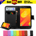 Leather Wallet Flip Cover Card Slot Case For Samsung J3 / J7 J5 PRO J1 A5 2017