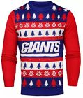 NWT NFL New York Giants Light 'em Up Men's Christmas Ugly Sweater Lights on eBay