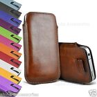 Premium Leather Pull Tab Pouch Case Cover Holster Bag Sleeve For OnePlus 5T