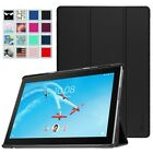 For Lenovo Tab 4 10 Plus (2017 Release) Lightweight Slim Shell Stand Cover Case