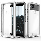For Google Pixel 2 ZIZO ION Case Tempered Glass Tough Armor Hard Cover