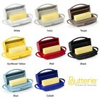 Butterie Flip Top Butter Dish For Countertop or Refrigerator, BPA Free, 6 Colors