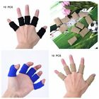 10 Pcs Finger Sleeves Braces Support Elastic Compression Protector Pain Relief