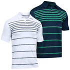 Under Armour 2017 Mens UA Coolswitch Brassie Stripe Performance Golf Polo Shirt