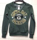NWT NFL Green Bay Packers Woman's Teen Fitted Football sweatshirt