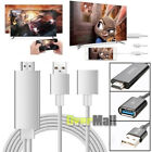 Mini USB MHL To HDMI 1080P TV Adapter Cable For Samsung Galaxy S8 S7 iPhone X 8