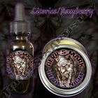 Devil's Mark Devil's Night Beard Balm Oil Triple Six Artistry Licorice Raspberry
