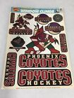 BRAND NEW RETRO PHOENIX COYOTES WINDOW CLING FREE SHIPPING on eBay