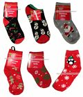DOLGENCORP* 1 Pair CHRISTMAS SOCKS Holiday LOW CUT+CREW Size 4-11 *YOU CHOOSE*
