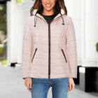Warm Winter Womens Jacket Padded Puffer Bubble Fur Collar Thick Coat New Arrival
