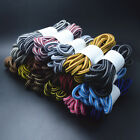 Unisex Round 90cm Rope Striped Shoelace Sneaker Hiking Walking Boot Shoe Laces