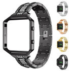 Magnetic Stainless Steel Loop Wrist Watch Band Strap Frame Suit for Fitbit Blaze