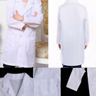 Child White Lab Coat Doctor Scientist School Costume Fancy Performance Supply