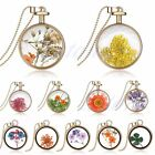 Living Memory Round Locket Pendant Charms Necklace Costume Jewellery Floating