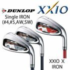 DUNLOP GOLF JAPAN XXIO 10 Single IRON (#4,5,AW,SW) Carbon or Steel 2018y 091712