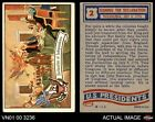 1956 Topps U.S. Presidents #2 Declaration of Independence VG