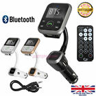 Bluetooth Wireless Handsfree Car Kit FM Music Transmitter MP3 With USB Charger