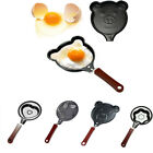 2pcs Multishaped Egg Pancake Non-Stick Frying Cook Kitchen for Cute Shaped Food