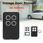 4 Button 288-868 MHz Garage Door Multi Remote Universal Fits Fixed Rolling Code