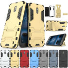 Thin Shockproof Hybrid Armour Back Case Kickstand Protective Cover For Nokia 2