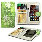 For ZTE Blade Velocity - Clip On Design PU Leather Wallet Case Cover