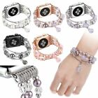 Bling Agate Beads Strap Bracelet Band for Apple Watch iWatch 3/2/1 42mm 38mm New