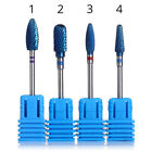 Blue Burr Nails Electric Drill Bit Manicure Nail Art Tools