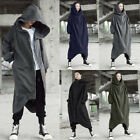 ZANZEA Women Asymmetrical Sweatshirt Sweats Hoodies Hooded Jacket Coat Outwear