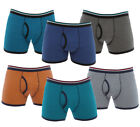Mens 3 Or 6 Pack Keyhole Boxer Shorts Underwear Classic Design  M L XL XXL