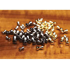 Hareline Brass Dumbbell Eyes Fly Tying Materials - All Varieties