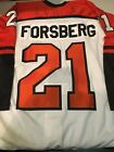 PETER FORSBERG 21 PHILADELPHIA FLYERS RETRO AUTHENTIC NIKE JERSEY FREE SHIPPING