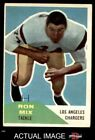 1960 Fleer #118 Ron Mix Chargers VG/EX $21.0 USD on eBay