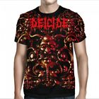 DEICIDE - Medallion - All Over Print T SHIRT M-L-XL-2XL New Sublimation Style