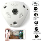 360° Panoramic Wireless IP Camera Audio Video WiFi 3 MP HD Fish-eye VR Lens