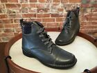 Clarks Grey Leather Whistle Bea Flannel Detail Ankle Boots NEW