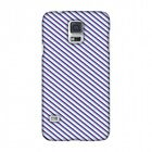 AMZER Checkered In Purple HARD Protector Case Snap On Slim Phone Cover Accessory