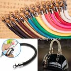 Внешний вид - 9 Color PU Leather Round DIY Shoulder Bag Purse Handle Replacement Handbag Strap