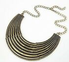 Fashion Statement Bohemia ethnic Jewelry sweater Gold bronze Pendant necklace