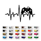 car games for babies - Game Control Heartbeat Decal Sticker for Home Car Window Wall Macbook Laptop Art